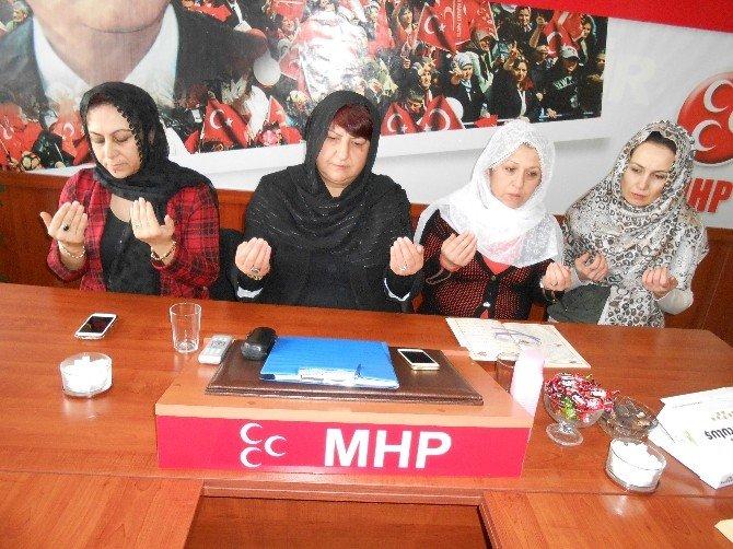 Eskişehir'de MHP'li Kadınlardan Şehitler İçin Mevlid-i Şerif