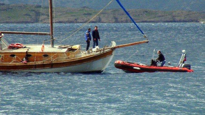 25 Kişilik Teknede 100 Sığınmacı Yakalandı