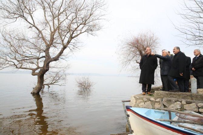 """""""Gölyazı belirli günler araç trafiğine kapatılarak ziyaretçilere açılacak"""""""