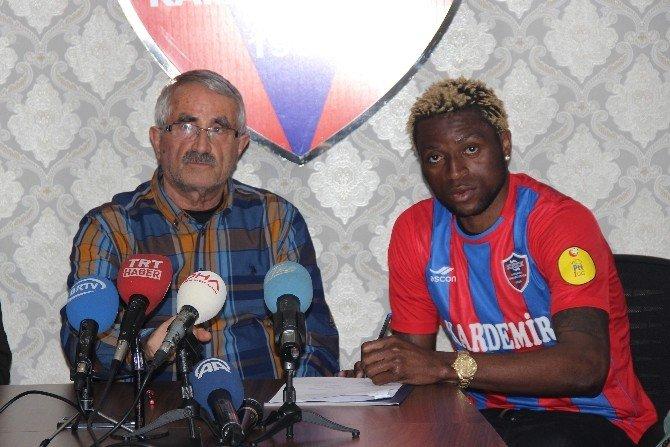 Kongolu Forvet Kabananga Karabükspor'a İmza Attı