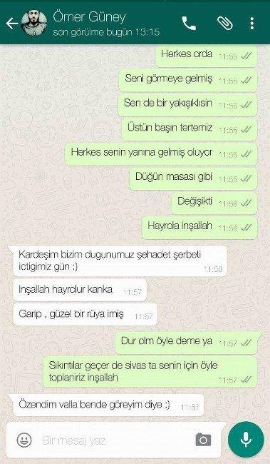 Şehit Polisin Yürek Yakan Mesajı: