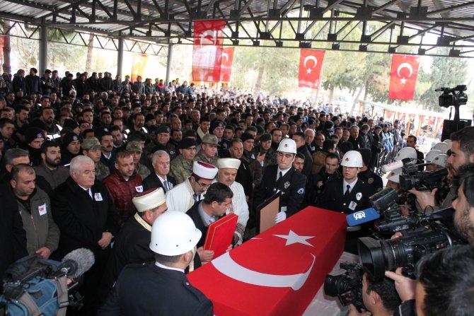Gaziantep'ten şehidine son görev