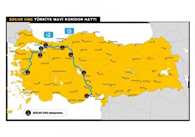 SOCAR, Türkiye'yi Mavi Koridor ile tanıştırıyor