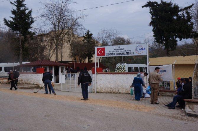 Suriye'den kaçan Türkmenler Yayladağı'nda