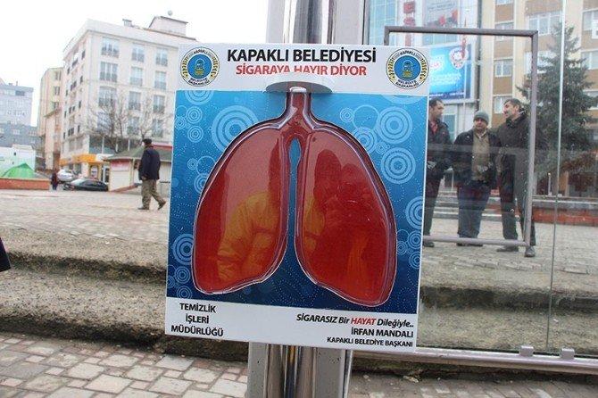 Sigarayla İlginç Mücadele