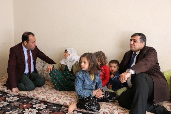 ASP İl Müdürü Terör Mağdurlarını Ziyaret Etti