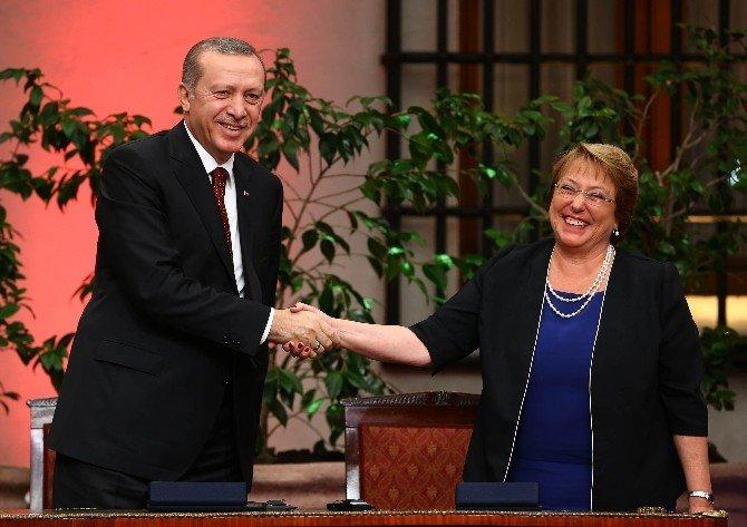 Türkiye İle Şili Arasında İşbirliği Anlaşmaları İmzalandı