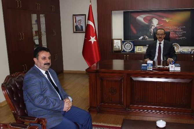 Başkan Solgun'dan Vali Yavuz'a Ziyaret