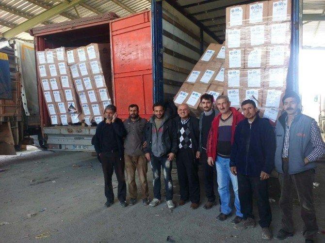 Merhamet Tır'ları Suriye'de