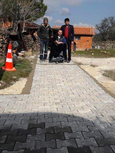Yunusemre Belediyesi Engellilerin Yaşamını Kolaylaştırıyor