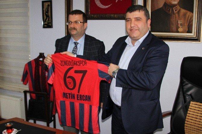 ERDEMİR İşçilerinden Zonguldak Spor'a 30 Bin TL Destek