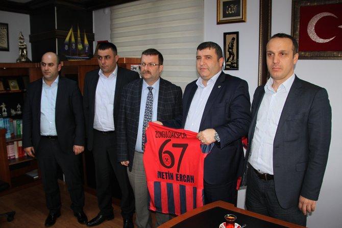 Zonguldakspor'a, ERDEMİR ve sendikadan anlamlı destek