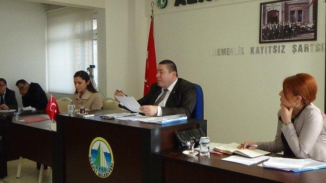 Alaplı Belediye Meclisi Toplandı