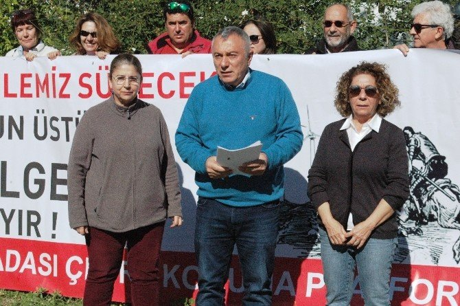 Bodrum'da Res Projesi İçin Suç Duyurusu