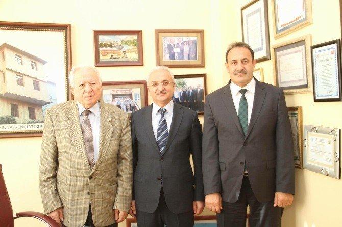 Başkan Başsoy'dan Hacı Ali Akın'a Ziyaret