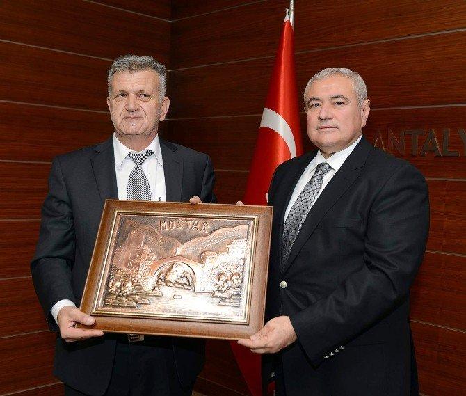Mostar, Antalyalı Yatırımcıları Bekliyor