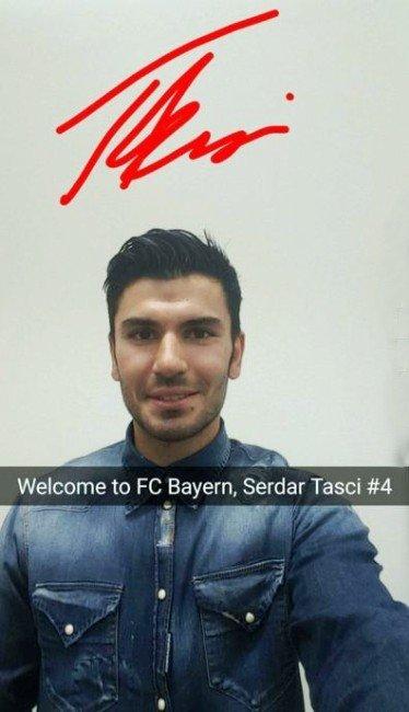 Serdar Taşçı Bayern Münih'te