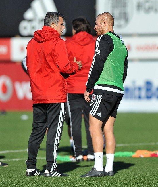 Marcelo Guedes Beşiktaş'ta İlk Antrenmanına Çıktı