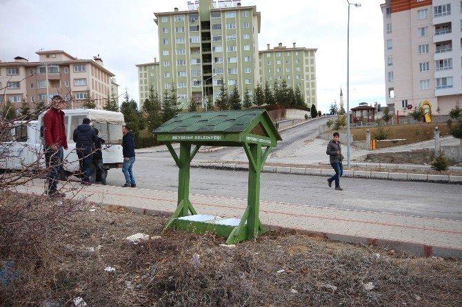 Beyşehir'de Sokak Hayvanları İçin Su Kabı