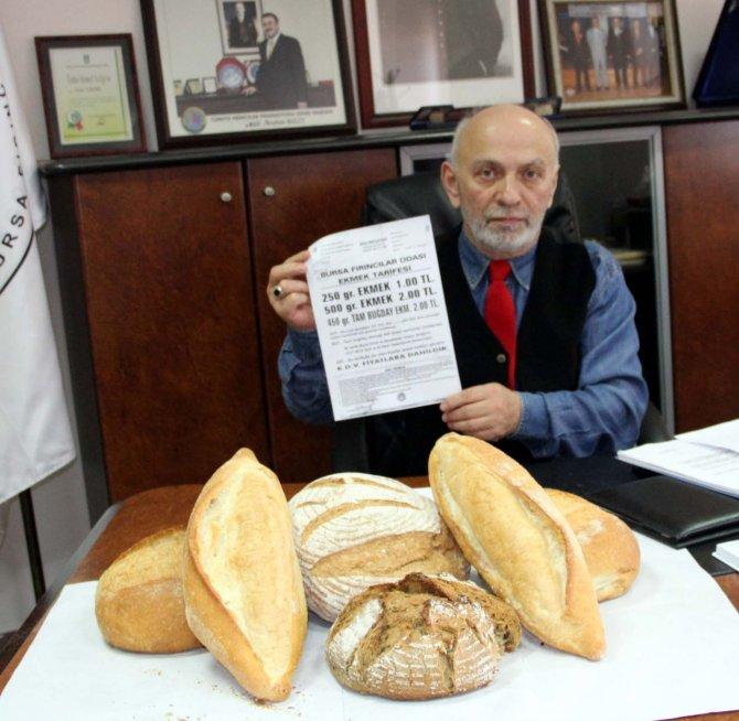 Fırıncılar Oda Başkanı Yılmaz: 60 kuruş sadece halk ekmek işçi ücretine denk