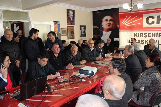 CHP İl Başkanından AK Parti'nin Suç Duyurusuna Tepki