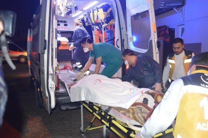 Keserle Karısını Ağır Yaraladıktan Sonra O Kadar Tarım İlacı İçti Ki Hastane Boşaltıldı
