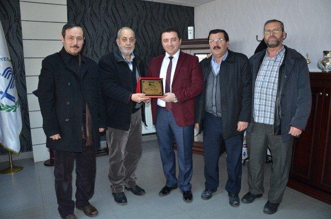 Belediye Başkanı Fatih Bakıcı'ya Teşekkür Ziyareti