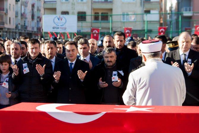 Şehit jandarma Sercan Bulak, Şereflikoçhisar'da toprağa verildi