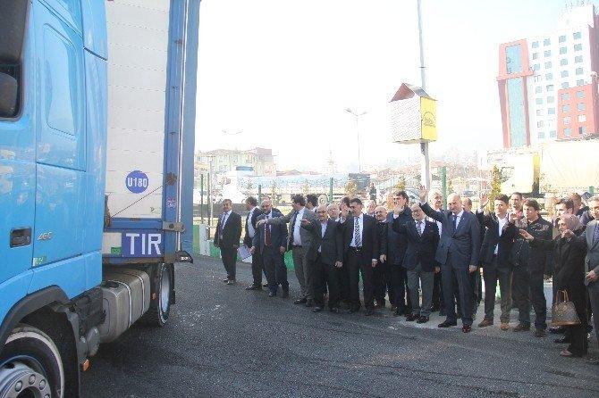 AK Parti Bursa'dan Bayırbucak'a Yardım Yağıyor