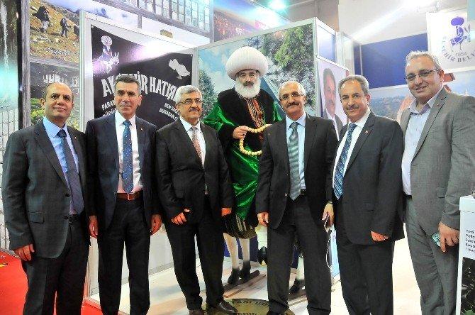 Akşehir Ve Nasreddin Hoca Emitt Fuarı'nda Tanıtıldı