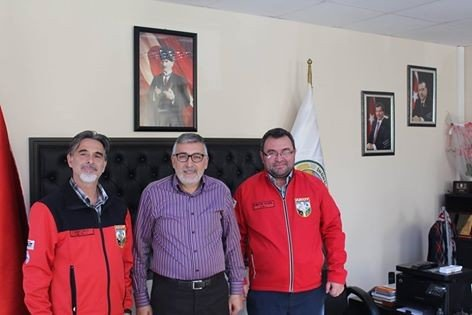 AKUT'tan Başkan Bozkurt'a Ziyaret