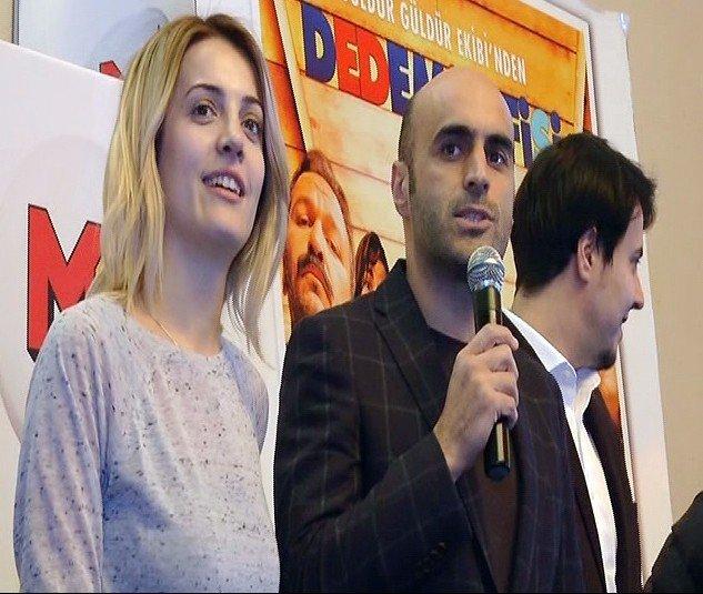 'Dedemin Fişi' Filminin Oyuncuları Seyirci İle Buluştu