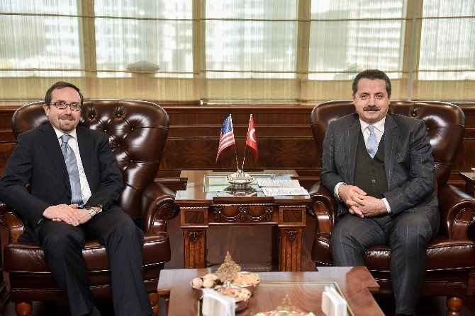 Bakan Çelik, ABD'nin Ankara Büyükelçisi Bass'ı Kabul Etti