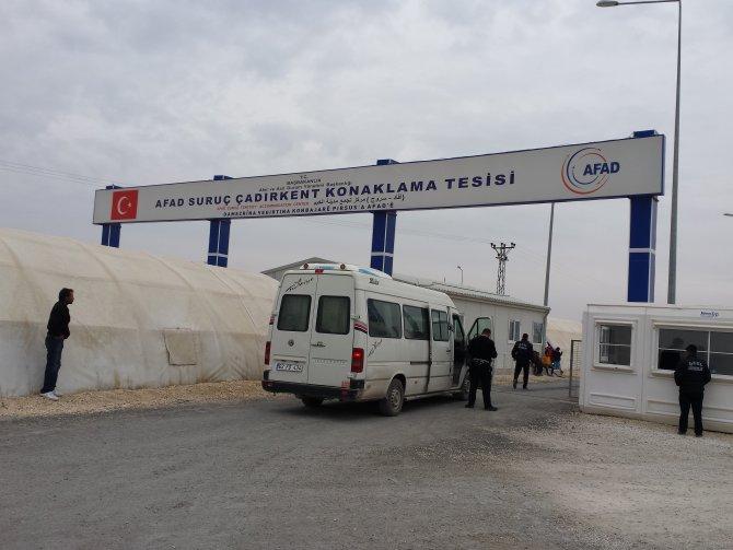 Suruç AFAD Çadır Kent Müdürü: Gelen veya yerleşen bir Türkmen aile yok
