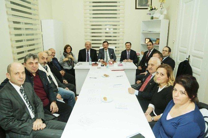 Başkan Tok'tan Çarşambalılar Derneği Ziyareti