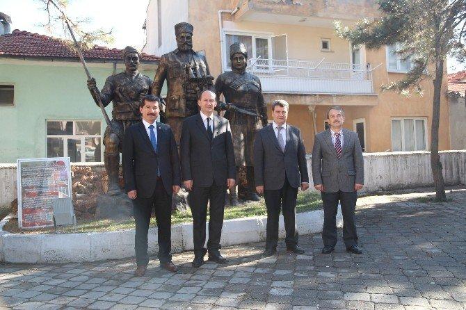İzmir Orman Bölge Müdürü'nden Kaymakam Kantay'a Ziyaret