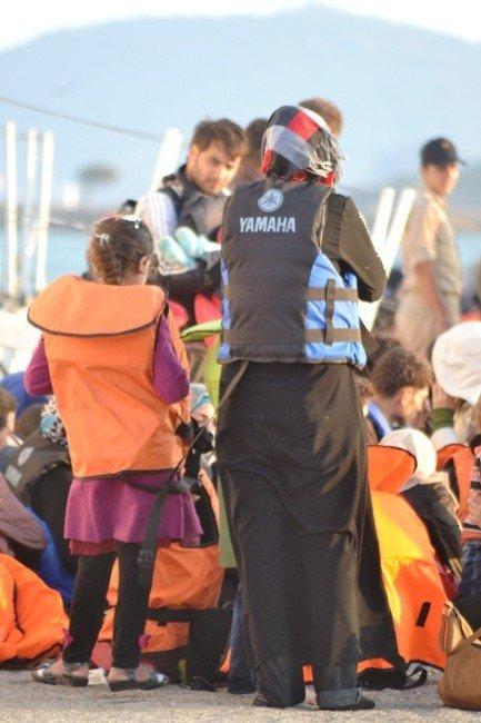 Ayvalık'ta 127 Göçmenin Umut Yolculuğu Başlamadan Sona Erdi