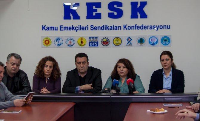 KESK: 2016 bütçesiyle otoriter bir yönetim anlayışı hedefleniyor