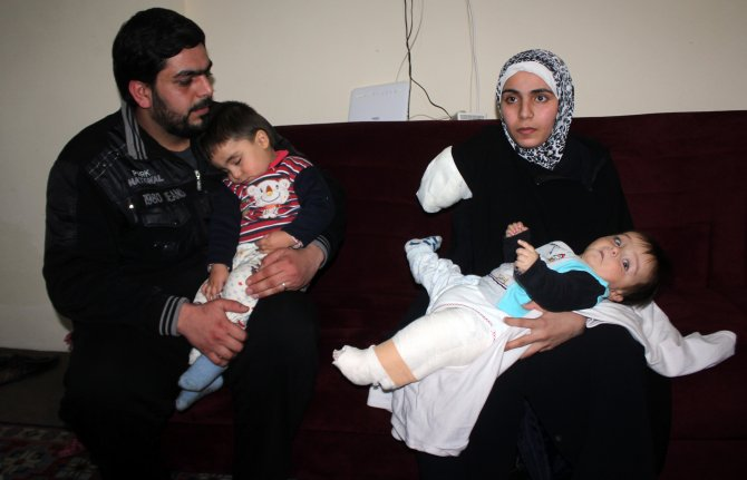 Kazada kolu kopan Suriyeli aileye Kimse Yok Mu sahip çıktı