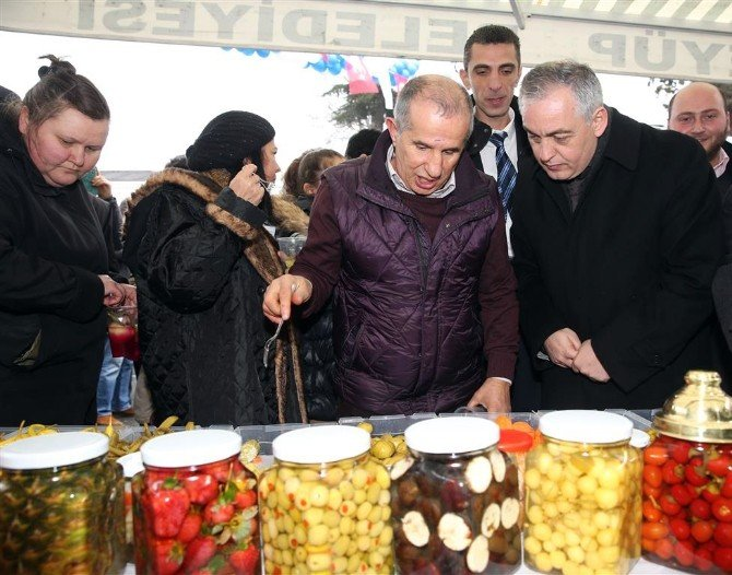 Kemerburgazlı Turşuculardan Başkan Aydın'a Teşekkür
