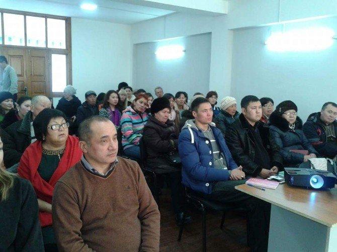 Manas Üniversitesi Tarafından Turizm İşletmelerine Hizmet İçi Eğitim Verildi