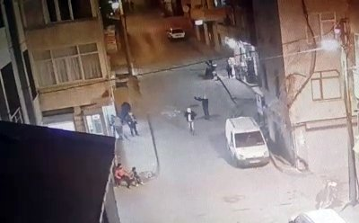 Kahvehane saldırısı kamerada