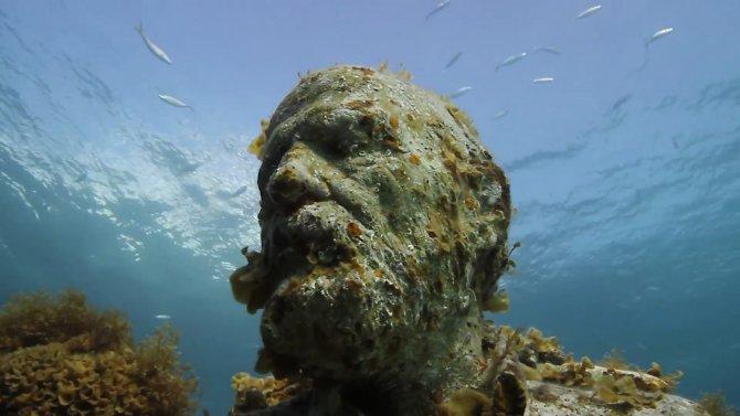 Avrupa'nın ilk sualtı müzesi Kanarya Adaları'nda açılacak