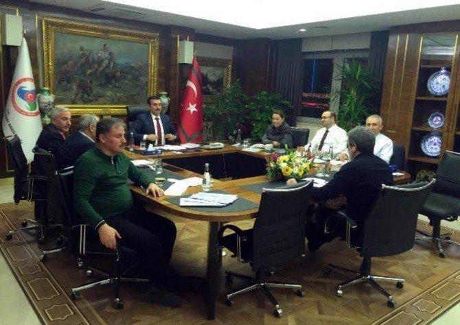 Malatya'nın Sorunları Ankara'da Masaya Yatırıldı