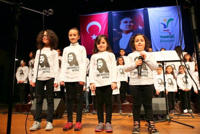 Çocuklar Barış Manço'yu şarkılarıyla andı