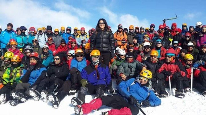 Mudosk Sporcuları Kış Eğitimlerini Tamamladı