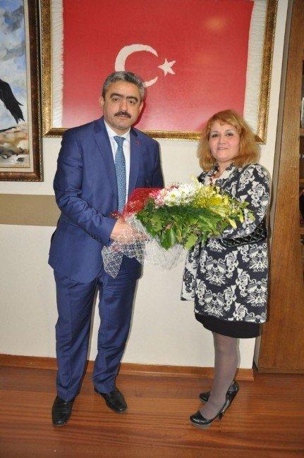 Nazender Yeni Yönetimi Alıcık'ı Ziyaret Etti