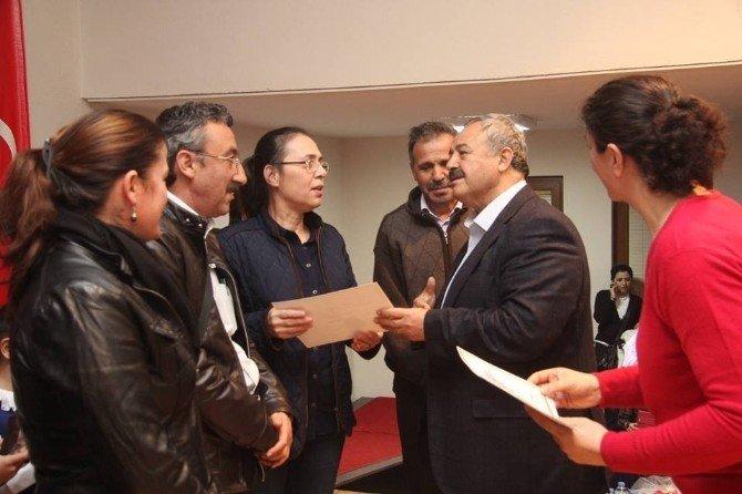 Burhaniyeli Satranççıların Ödül Sevinci