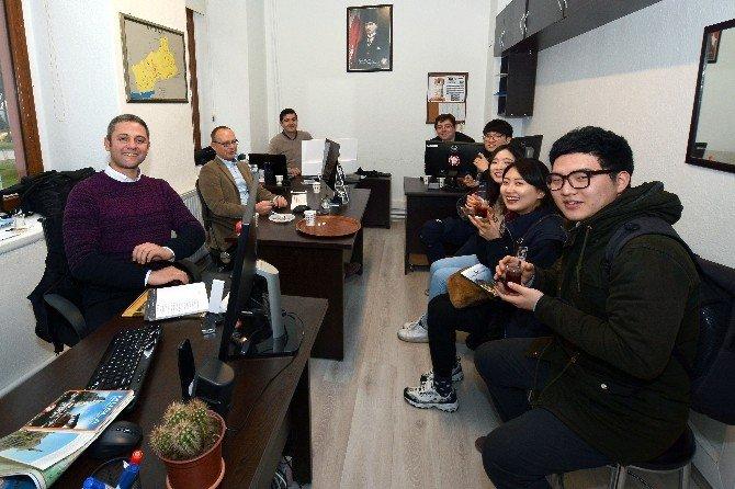 Güney Kore'li Öğrenciler Muğla'da