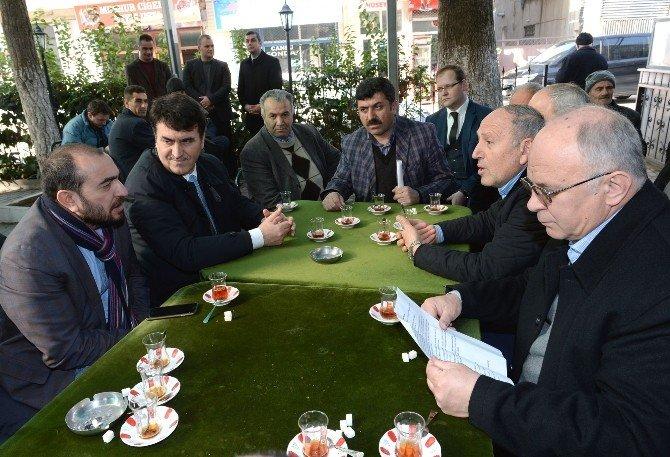 Başkan Dündar Vatandaşlarla Buluştu